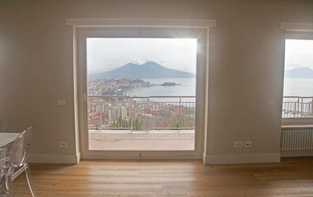 Una terrazza sul golfo di Napoli - I Love Parquet