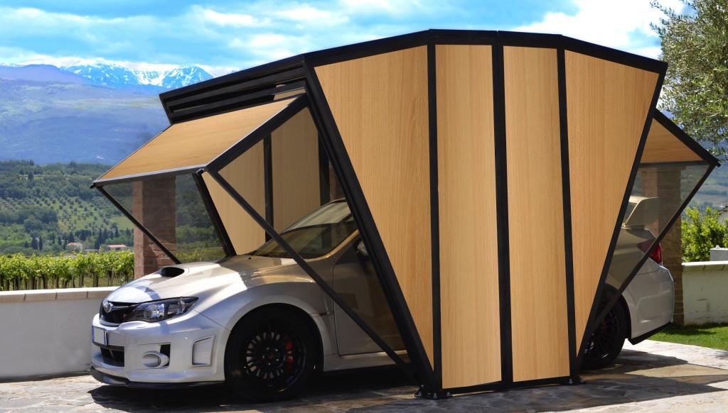 Garage o gazebo i love parquet for Gazebo per auto usato
