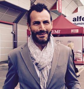 Mirko De Blasio, responsabile commerciale Kahrs per l'Italia.