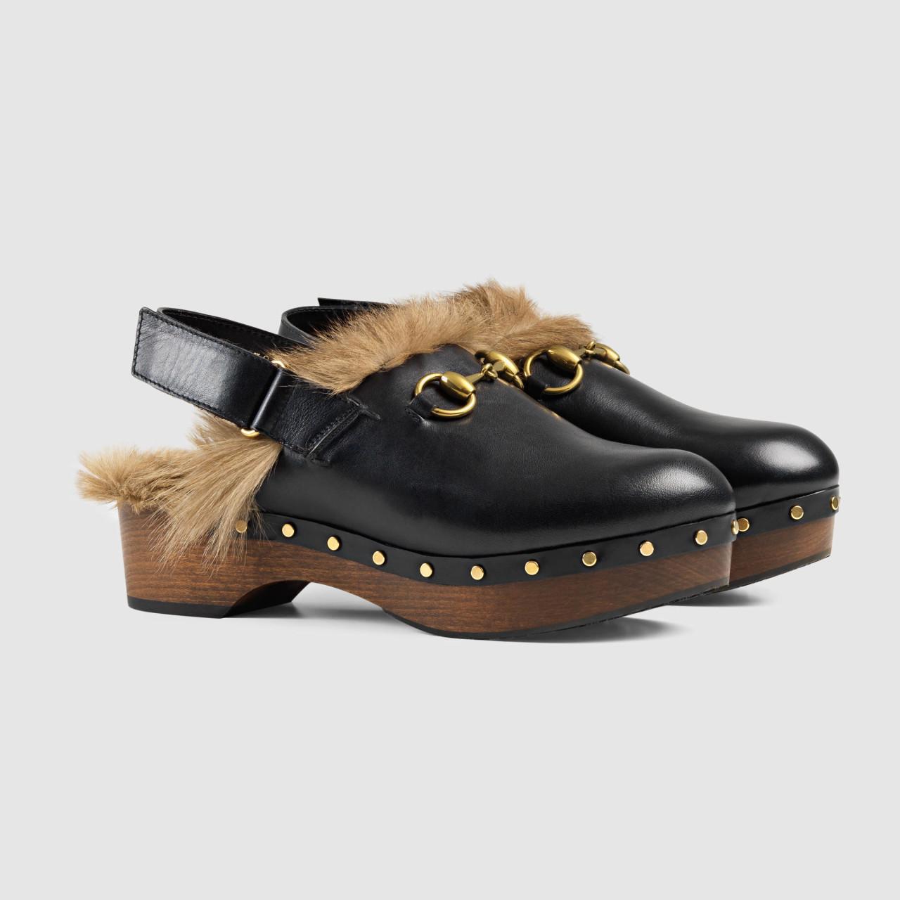 varietà di design acquista l'originale qualità e quantità assicurate Gli zoccoli secondo Gucci
