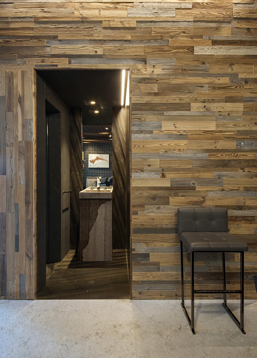 Boiserie in legno antico Garbelotto Materia 3.0