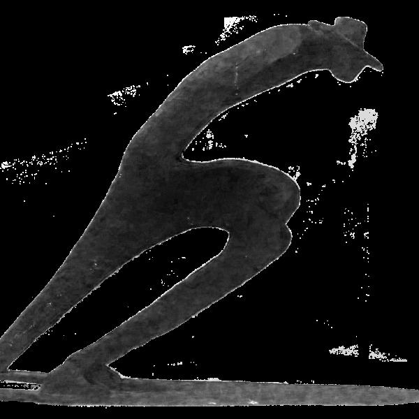 Granchi Viaggiatore sedentario 60x41x9 cm bronzo