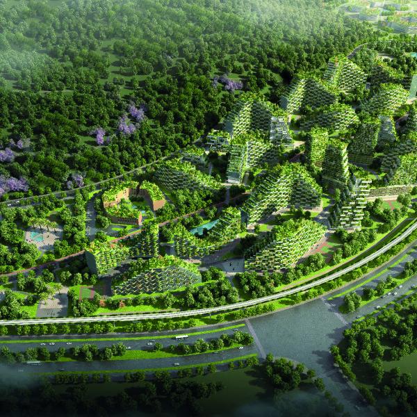 Stefano Boeri Architetti_Liuzhou Forest city_view 4