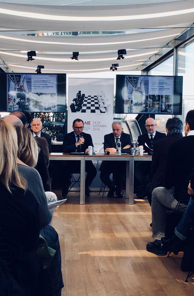 Cersaie 2020 Calendario.Cersaie Presentata A Milano Alla Stampa L Edizione 2018